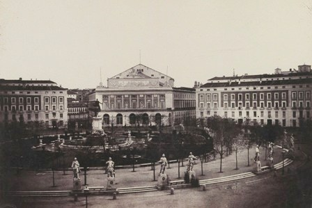1853-Clifford-Plaza de Oriente - copia