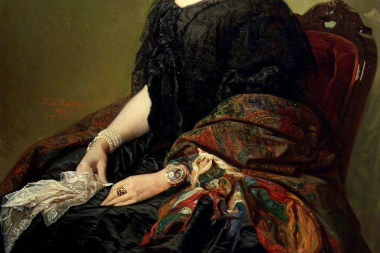FEDERICO_DE_MADRAZO_-Gertrudis_Gómez_de_Avellaneda_(Museo_Lázaro_Galdiano,_1857)